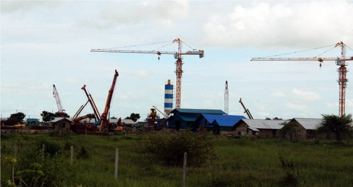 Myanmar industrial zone land property construction