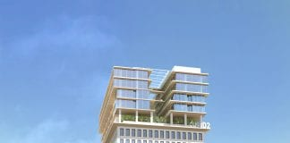 Rendering of the dusitD2 in Yangon, Myanmar