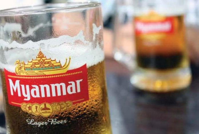 beer myanmar alcohol