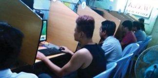 it technology cyber cafe internet