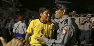 letpadaung copper mine protest mining police