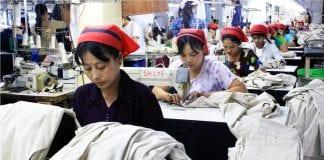 Myanamr garment factory industrial zone yangon EU labour electricity power industry (44)