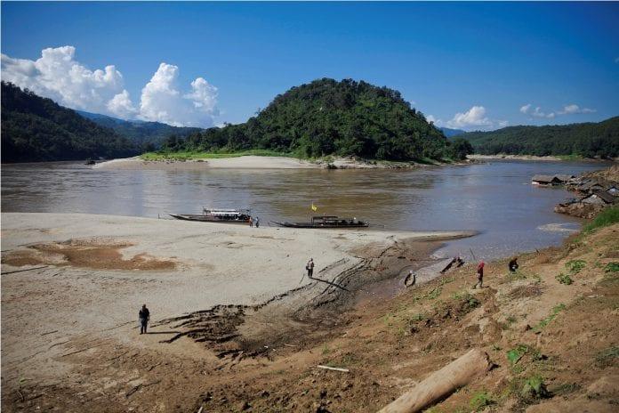 Myanmar salween dam river thai protest 2