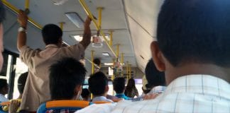 bus ticket traffic transport public yangon Myanmar Business Today