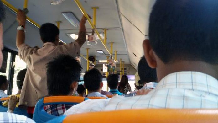 bus ticket traffic transport public yangon Myanmar Business Today