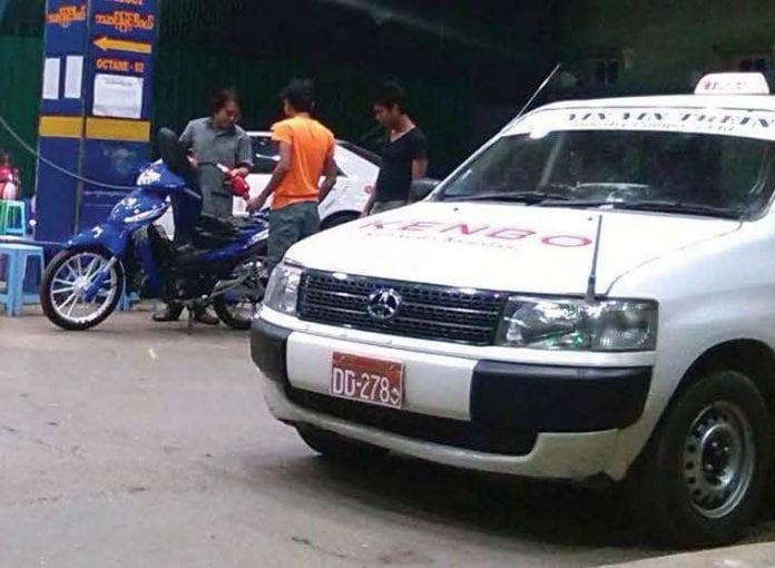 car auto traffic fuel station petrol diesel traffic Myanmar Business Today