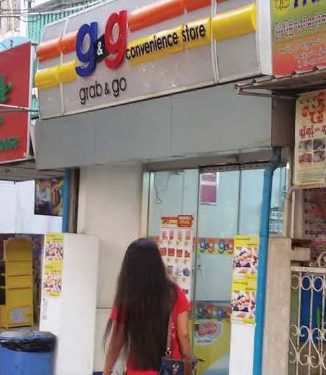 grab and go convenience store yangon supermarket booze alcohol Myanmar Business Today