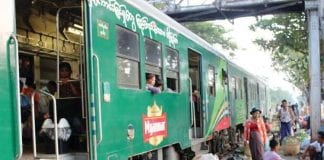 investment ad train Myanmar