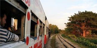 railway train tourist
