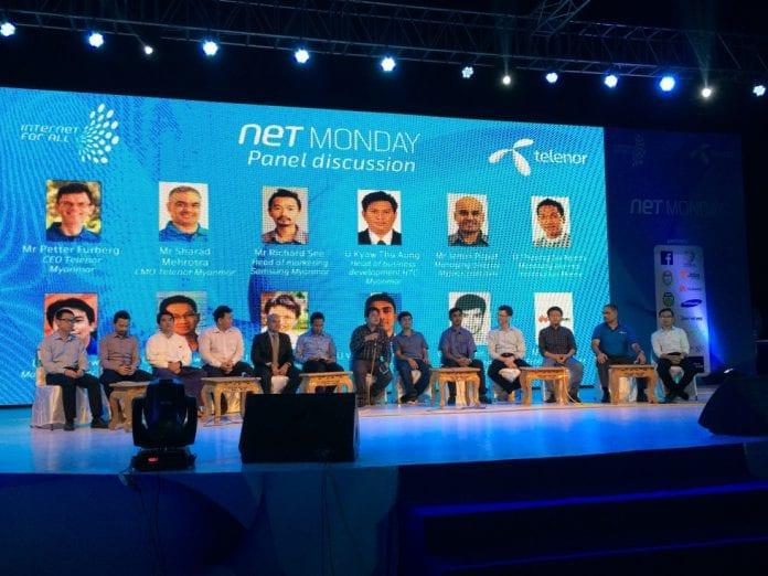 telenor Mynamar net monday panel Myanmar BUsiness today