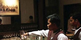 waiter human resources restaurant cafe Yangon Myanmar
