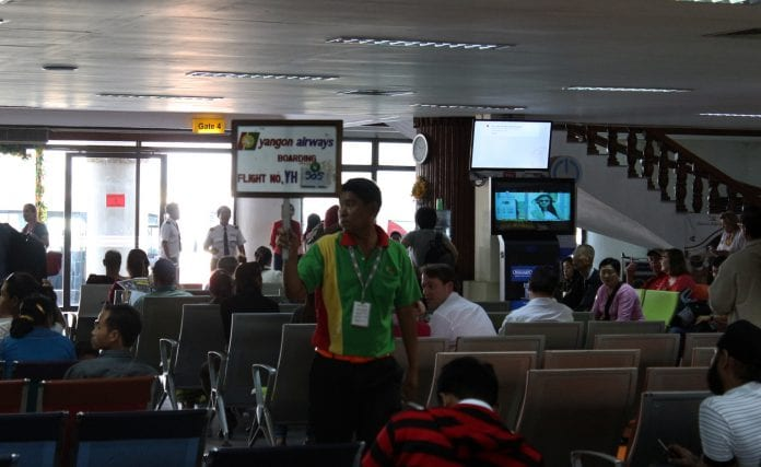Myanmar aviation yangon airways expansion domestic plane