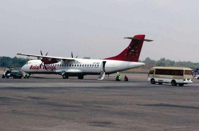 Myanmar plane aviation airport Myanmar Business Today