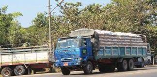 SME logistics truck transportation Myanmar Yangon
