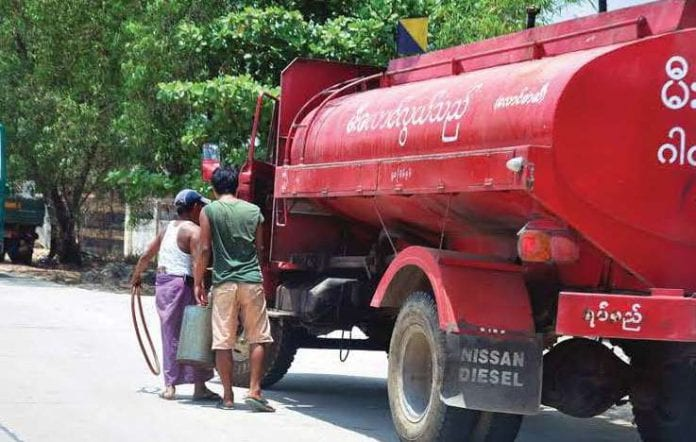 oil import gas petrol Myanmar