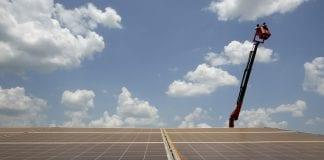 solar power plant panel