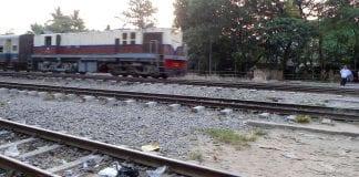 Myanmar railway train