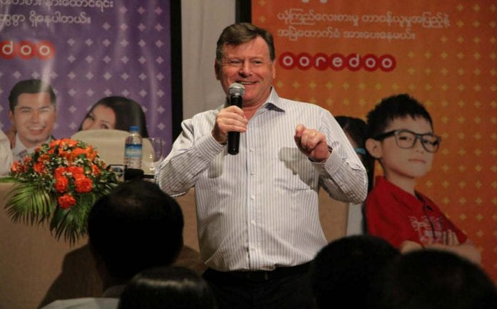 Ross cormack ooredoo Myanmar Business Today
