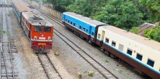 Trains myanmar