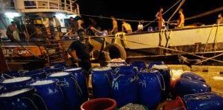 shrimp export Myanmar reuters