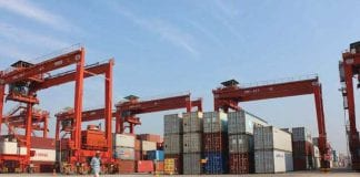 trade container export import