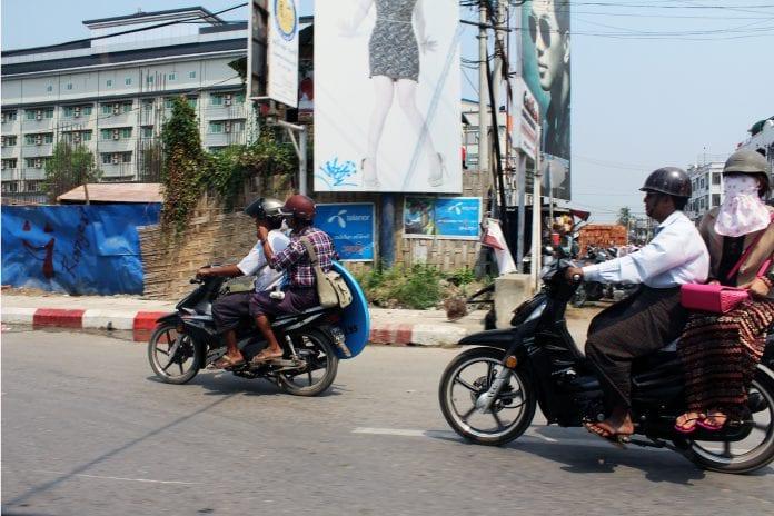 Mandalay motorbike