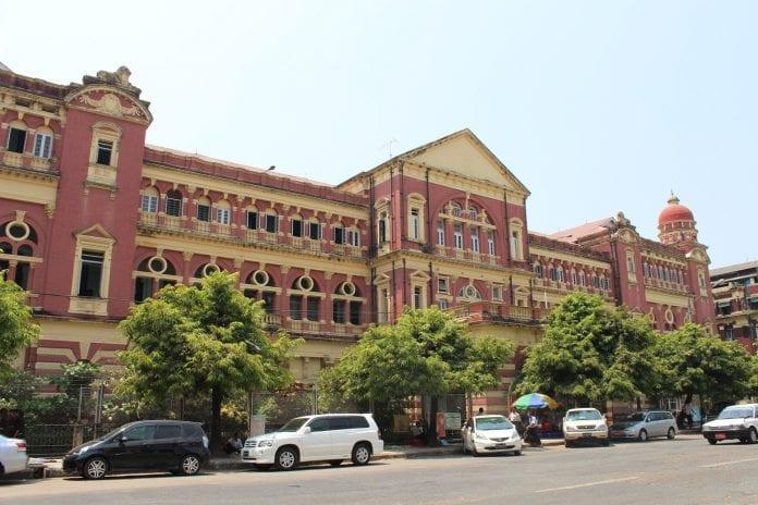 Secretary office heritage yangon