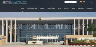 Travel Naypyitaw mice tourism website