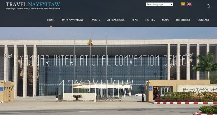 Travel Naypyitaw mice tourism website