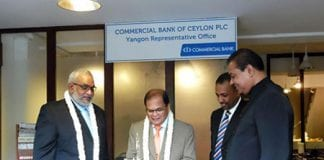 commercial bank of ceylon Myanmar