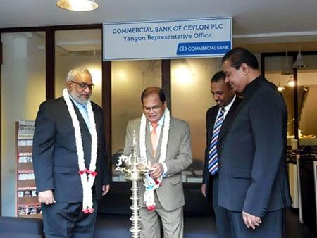commercial bank of ceylon Myanmar