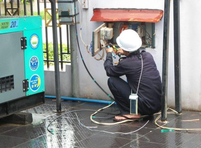 electricity power myanmar yangon