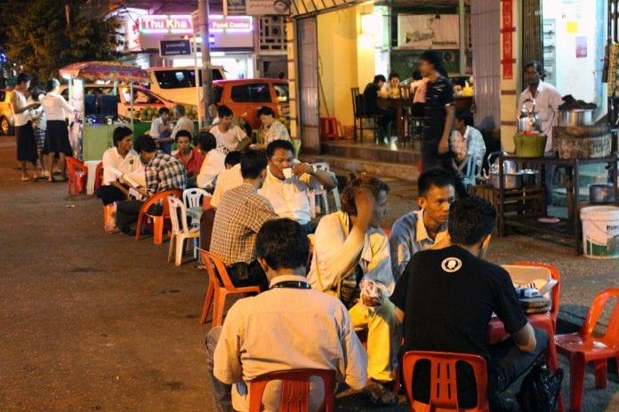 food restaurant consumer street