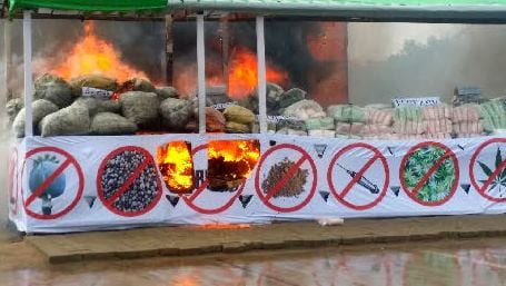 Myanmar drug meth marijuana heroin police crime