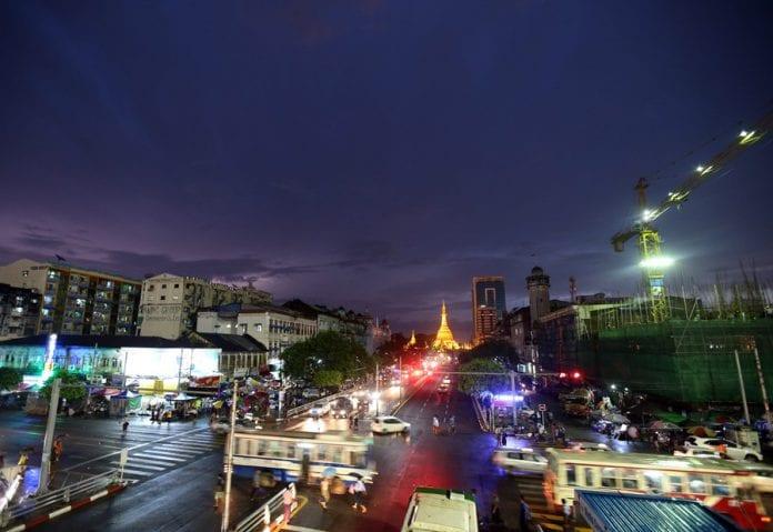 Myanmar economy sule pagoda IMF development