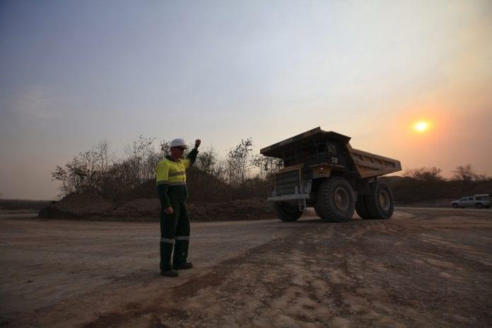 Myanmar mining jade ruby mine