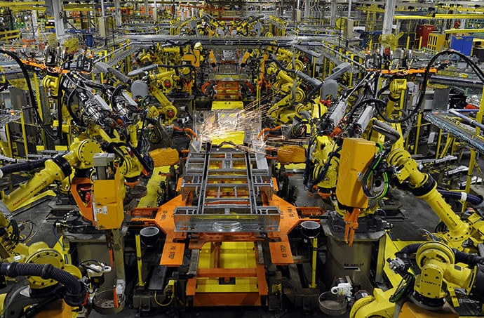 automation car factory