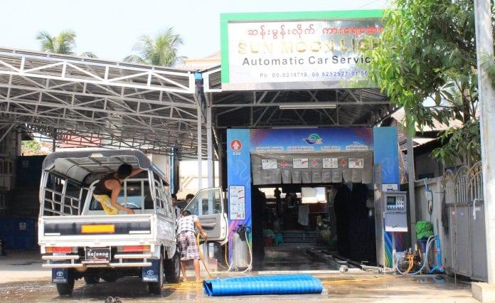 car service centre yangon Myanmar