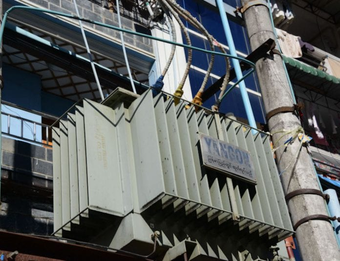 electricity power transformer yangon