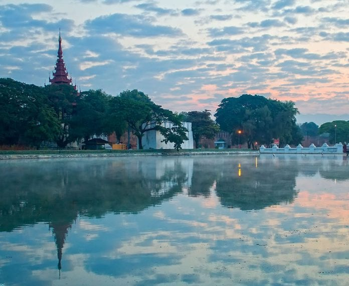 mandalay city Myanmar