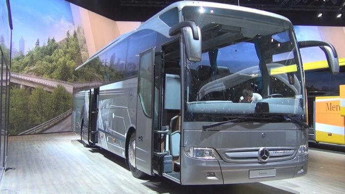 mercedes benz bus