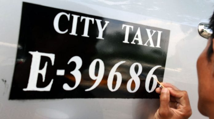 taxi auto vehicle Yangon car toyota Myanmar