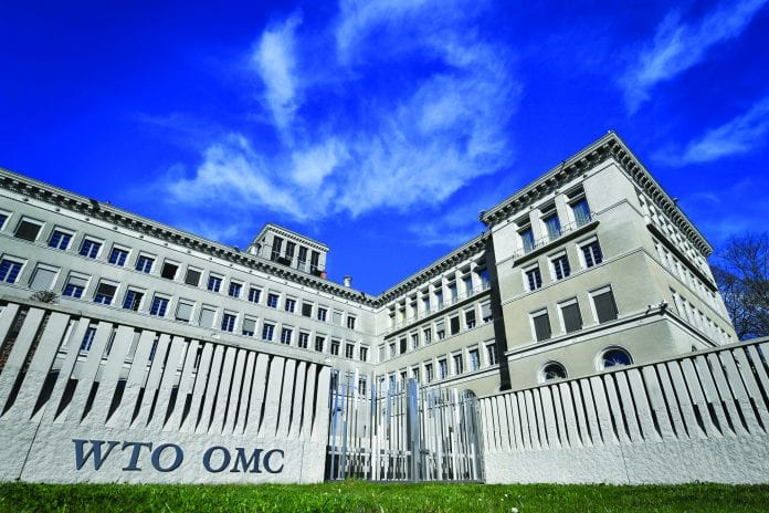 """The headquarters of the World Trade Organization in Geneva. """"The WTO is facing its deepest crisis since its creation,"""" Europe's trade commissioner said."""