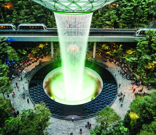 With a soaring waterfall, forests, endless shops and restaurants, and even a sound-and-light show, a few hours' layover in Changi Airport may not be enough time.