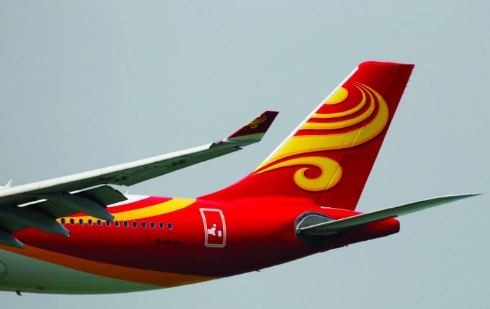 A Hong Kong Airlines Airbus A330-300 descends before landing at Hong Kong Airport in Hong Kong, China April 4, 2018.